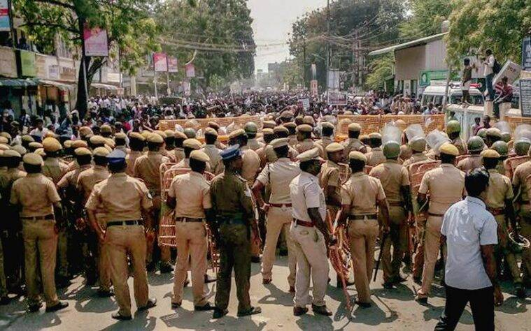 Anti-Sterlite protests in Tamil Nadu's Tuticorin enters 100th day