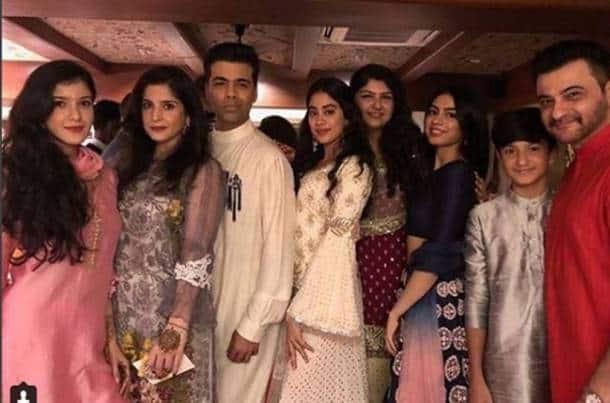 kapoor girls with karan johar