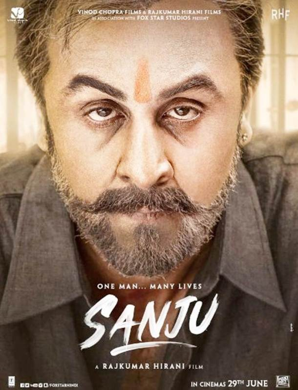ranbir kapoor as sanjay dutt in 2016