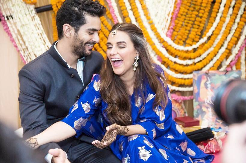 neha dhupia and angad bedi pictures