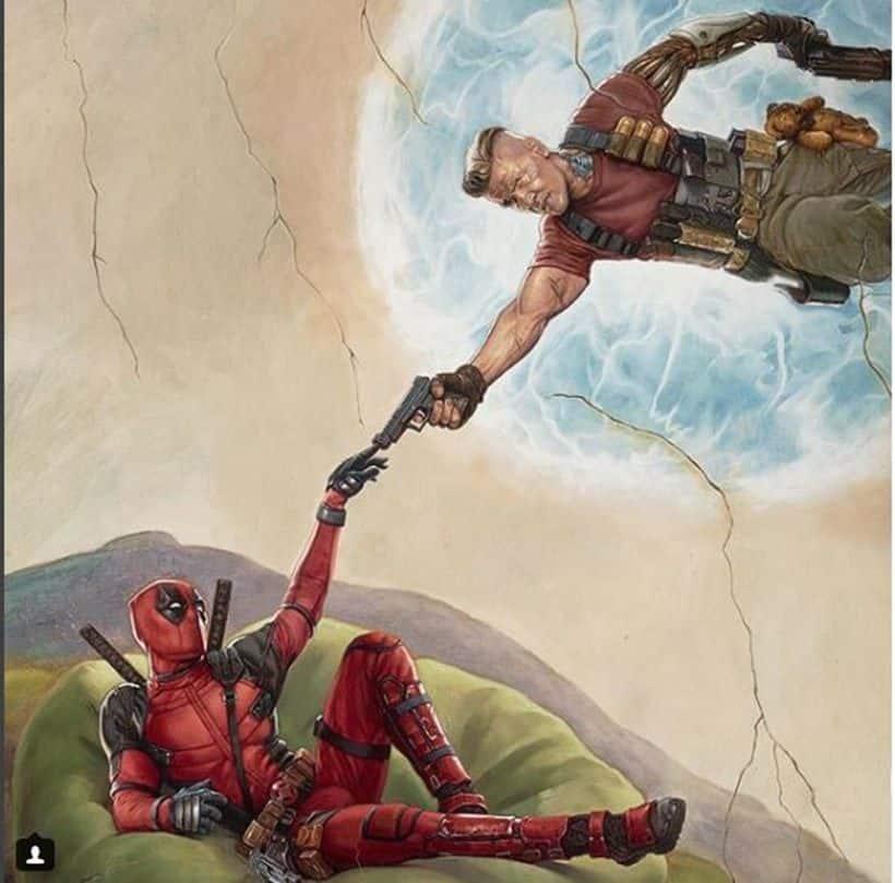 deadpool 2 image Michelangelo