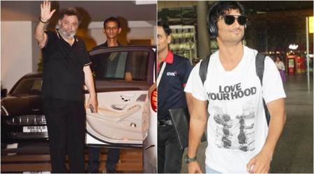 sushant singh rajput and rishi kapoor spotted