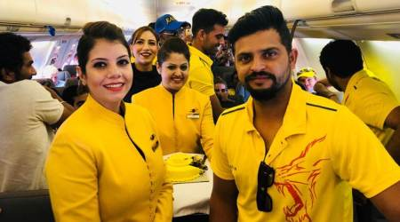 Chennai Super Kings celebrate IPL 2018 triumph on flight to Chennai