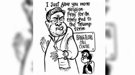 Karnataka Election 2018 through EP Unny's cartoons