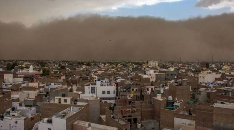 Disastrous Sand Storms Killed almost 100 People in India