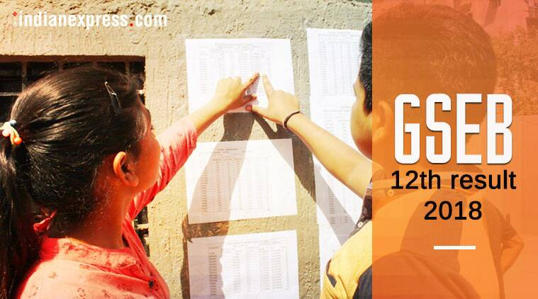 Gujarat Gseb Hsc 12th Result 2018 Live Results Declared At Gseb Org Education News The Indian Express
