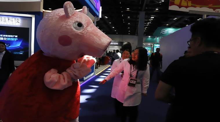 Peppa Pig wins street cred, attracts censors China