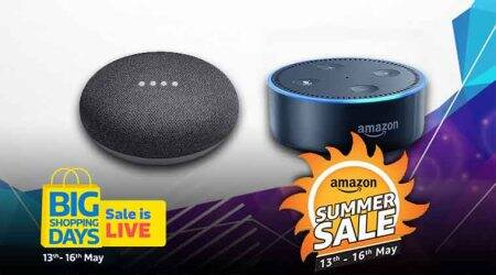 Flipkart Big Shopping Days and Amazon Summer Sale 2018: Best offers on Amazon Echo and Google Home smart assistants