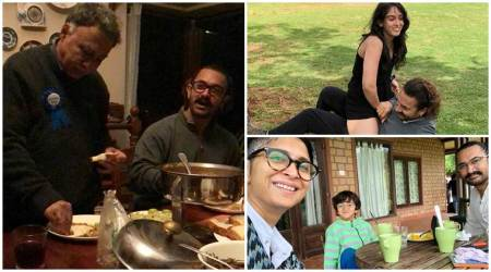 Aamir Khan celebrates Qayamat Se Qayamat Tak director Mansoor Khan's birthday with family