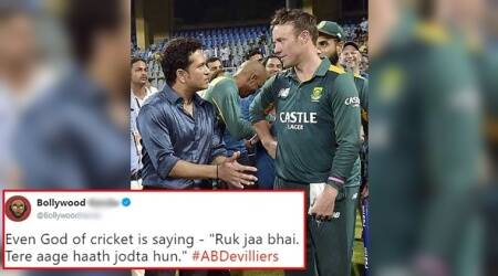 Twitterati lament AB de Villiers' retirement in the language they know best — MEMES