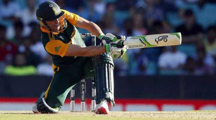 AB de Villiers, AB de Villiers retirement, AB de Villiers hundred, AB de Villiers half century, AB de Villiers South Africa, sports news, cricket, Indian Express