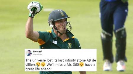 AB de Villiers retires from international cricket: Twitterati bid goodbye to the 'last Infinity Stone'