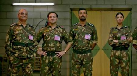 john abraham, diana penty and others in parmanu