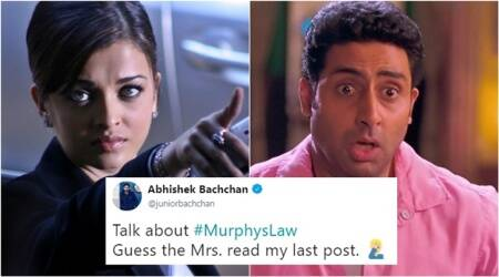 Guess how Abhishek Bachchan got 'served' by wife Aishwarya Rai after his 'outrage' onTwitter?