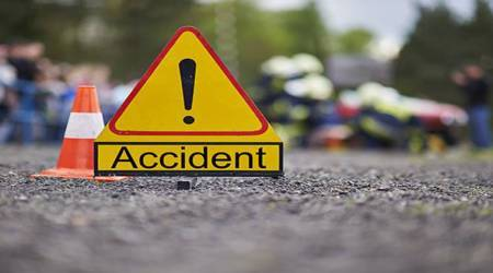 Pune: 10 tourists injured as bus turns on its side