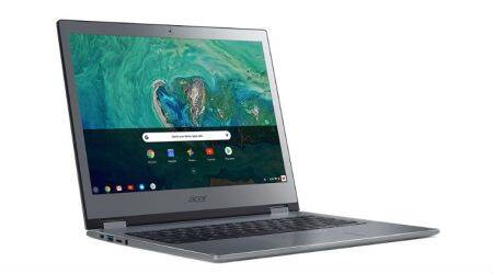 Acer introduces four new Chromebooks; two for Business users and one is a 15-inchconvertible