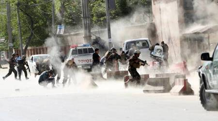 Afghanistan: 30 'killed and wounded' in bombing inside mosque in Khostprovince
