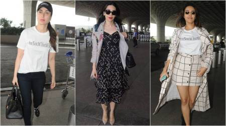 Airport #stylefile: Kareena Kapoor Khan, Karisma Kapoor show us how to make a style statement with minimal effort
