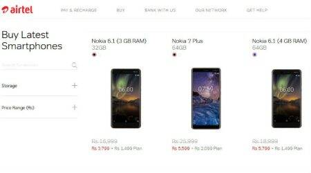 How to get top Nokia phones for as low as Rs 3,799…but only for Airtel customers