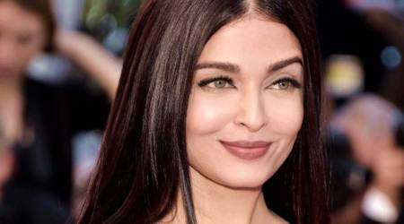 Monochromes are chic, but Aishwarya Rai Bachchan's outfit has just too much going on; see pics