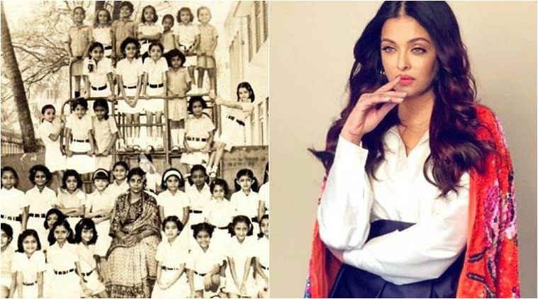 Aishwarya Rai Bachchan goes on a throwback trip, posts adorable childhood photos