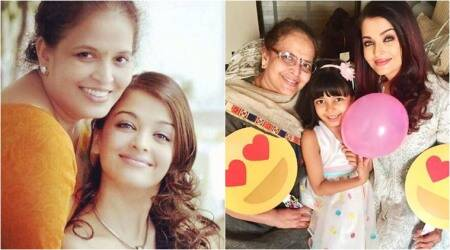 Aishwarya Rai Bachchan has the sweetest birthday wish for mother Vrinda Rai