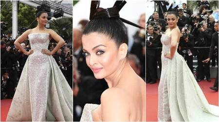 Cannes 2018: Aishwarya Rai Bachchan looks glorious in an ivory couture gown at the red carpet