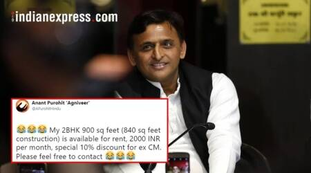Twitterati out to help Akhilesh Yadav who is 'looking for a flat on rent in Lucknow'