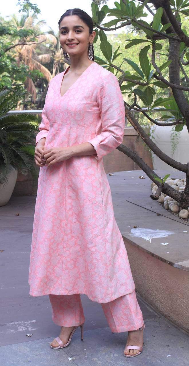 alia bhatt during raazi promotion
