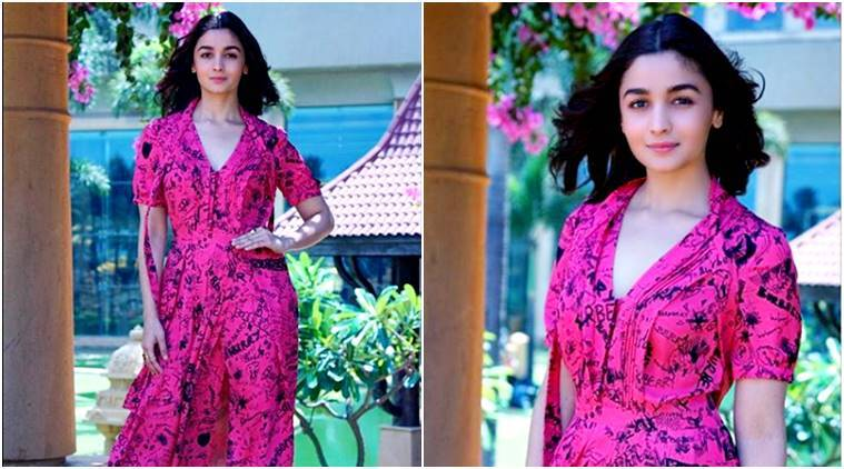 Alia Bhatt, Alia Bhatt latest photos, Alia Bhatt fashion, Alia Bhatt Raazi promotions, Alia Bhatt style, Alia Bhatt Raazi dresses, Alia Bhatt latest news, celeb fashion, bollywood fashion, indian express, indian express news