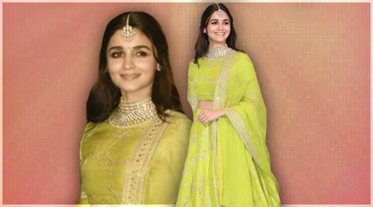 Alia Bhatt, Sonam Kapoor reception, Alia Bhatt Sonam Kapoor reception, Alia Bhatt fashion, Alia Bhatt latest updates, Alia Bhatt latest photos, Alia Bhatt latest news, Alia Bhatt images, celeb fashion, bollywood fashion, indian express, indian express news