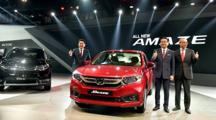 Honda to launch six models in three years; drives in new Amaze