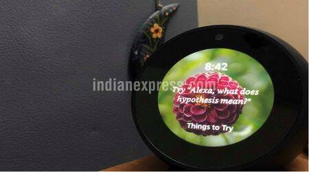 Amazon Echo Spot review: Now you see what you hear