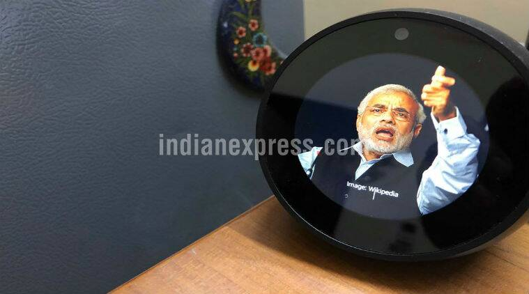 Echo Spot, Amazon Echo Spot, Amazon Echo Spot price in India, Amazon Echo Spot Alexa, Echo Spot price in India, Echo Spot smart speaker, Echo, Amazon Echo