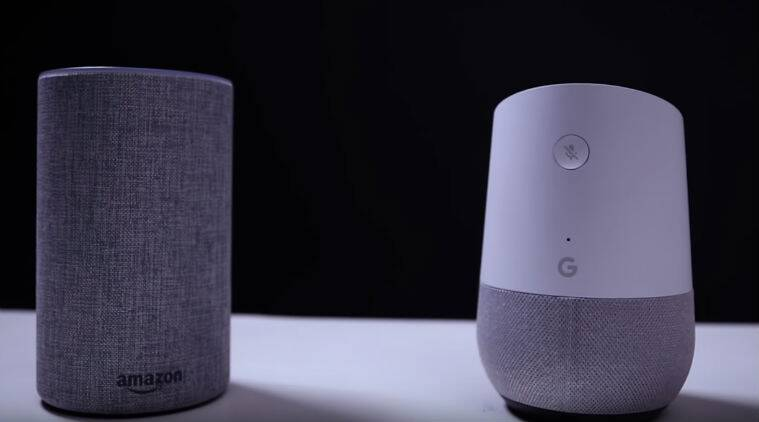 google home vs amazon echo india