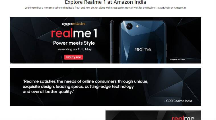 Oppo Realme 1 price, Oppo Realme 1 Amazon, Oppo Realme 1, Oppo Realme 1 specs, Oppo Realme 1 mobile, Oppo Realme 1 features, Oppo Realme 1 specifications, Oppo Realme 1 price in India