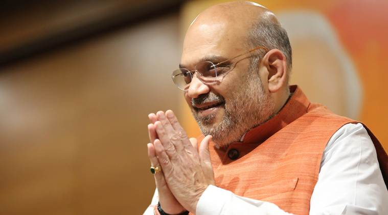 Amit Shah arrives in Kerala to strategise for Lok Sabha polls