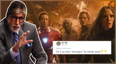 'Avengers: Infinity War' leaves Amitabh Bachchan clueless, Twitterati list out the Marvel 'starter pack'