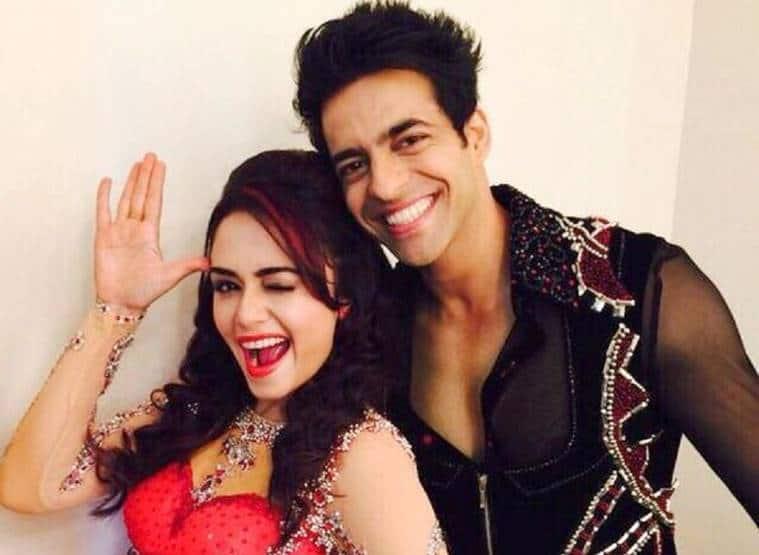 Amruta Khanvilkar and Himmanshoo Malhotra