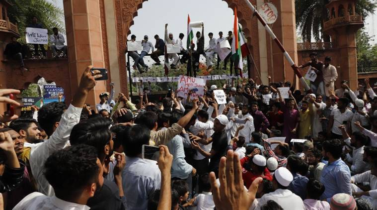AMU protesters wanted to target Hamid Ansari, says AMUSU