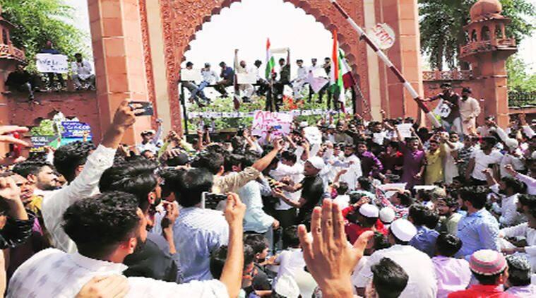 "Aligarh Muslim University row: Vice Chancellor tells students not to fall into the trap of ""certain forces"""