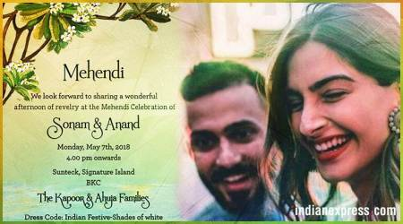 Sonam Kapoor and Anand Ahuja's mehendi: What we know so far