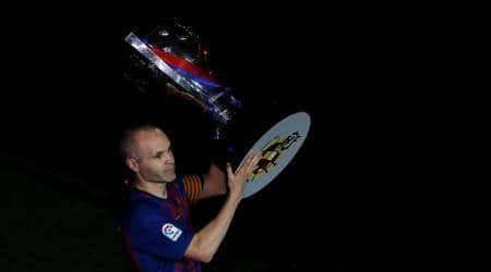 La Liga champions Barcelona bid farewell to captain AndresIniesta