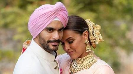 Neha Dhupia and Angad Bedi made Thursday beautiful with these throwback photos