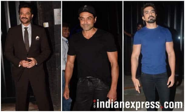 Anil Kapoor, Bobby Deol, Saqib Saleem
