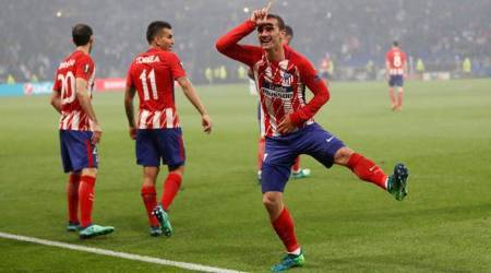 Europa League: Diego Simeone lauds 'decisive' Antoine Griezmann, urges him to stay