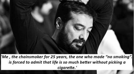 Anurag Kashyap's Instagram post is the beacon of hope for everyone trying hard to quitsmoking