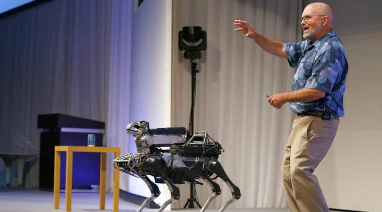 SpotMini, SpotMini robot, robot dog, Boston Dynamics, robots, dog robot, dog like robot, SpotMini price, SpotMini sale, SpotMini features, Robotics