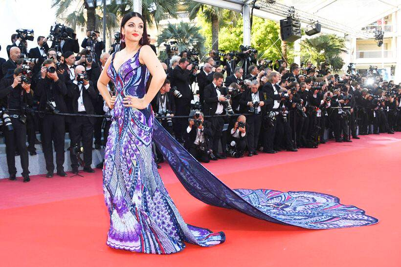 aishwarya rai bachchan attire at cannes film festival