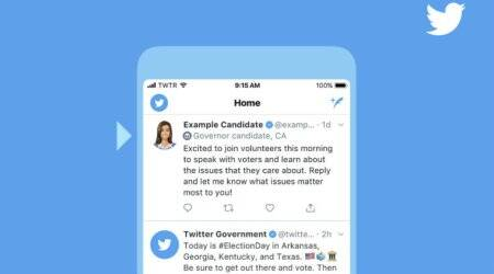 Twitter to add special labels to political candidates inUS